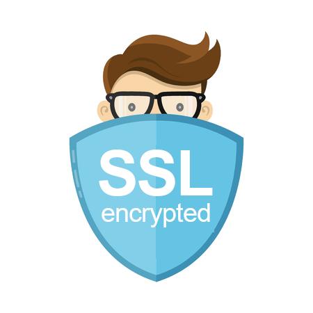 Illustration SSL Verschlüsselung